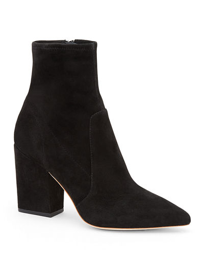 65a4c86e98e Quick Look. Loeffler Randall · Isla Suede Chunky-Heel Boots. Available in  Black
