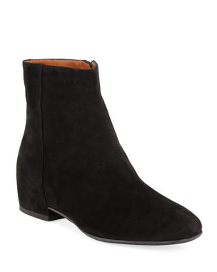 e024aadf8ec Aquatalia Ulyssa Waterproof Suede Ankle Boots with Hidden Wedge