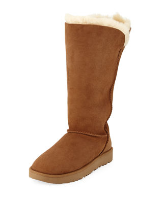 UGG Classic Cuff Tall Stitched Shearling Boot