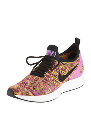 WOMEN'S AIR ZOOM MARIAH FLYKNIT RACER CASUAL SHOES, PINK
