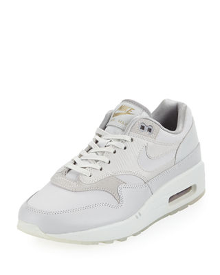 Image 1 of 3: Air Max 1 Premium Leather Sneaker