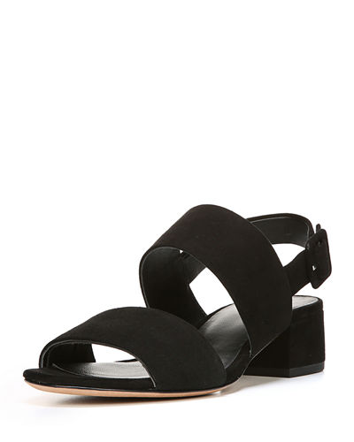 Vince Taye Suede Two-Band Sandal