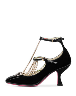 Image 2 of 4: Taide Patent Leather Pump