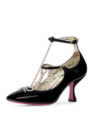 Image 1 of 4: Taide Patent Leather Pump