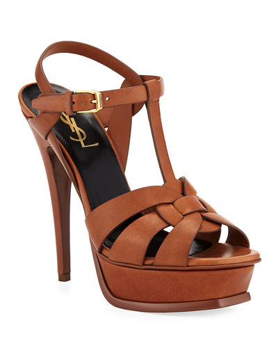 Tribute Leather 105mm Platform Sandals