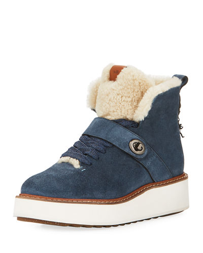 Coach Urban Hiker Suede Boot