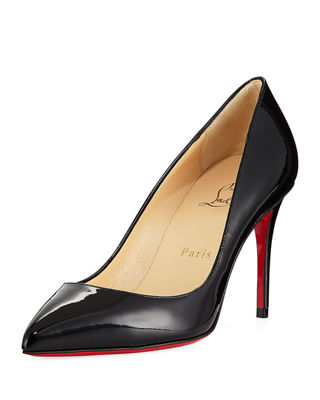 Pigalle Follies 85mm Patent Red Sole Pump