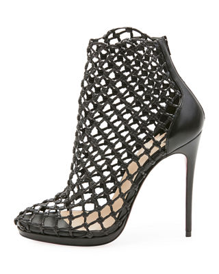 Image 3 of 5: Porligat Caged Red Sole Bootie