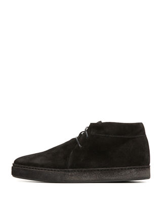 Image 2 of 5: Novato Suede Lace-Up Chukka Sneaker