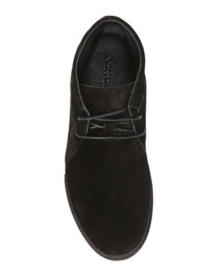 Image 4 of 5: Novato Suede Lace-Up Chukka Sneaker