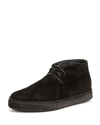 Image 1 of 5: Novato Suede Lace-Up Chukka Sneaker