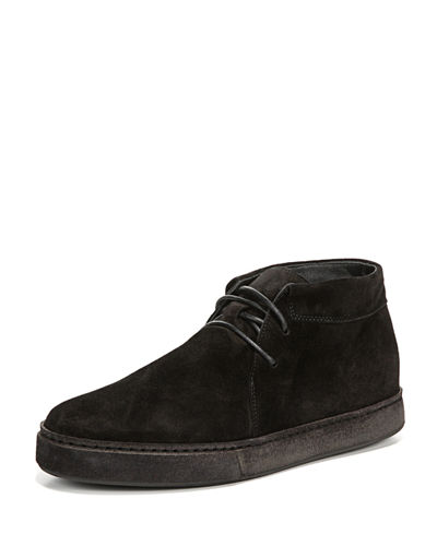 Vince Novato Suede Lace-Up Chukka Sneaker