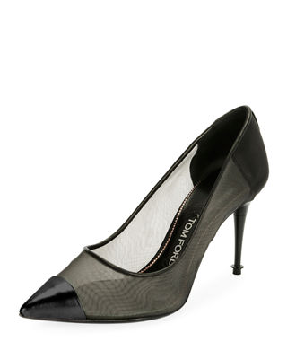 Image 1 of 3: Pointed Mixed Mesh 85mm Pump