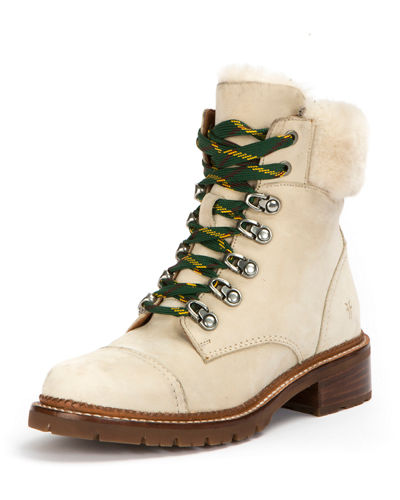 Frye Samantha Brushed Hiker Boot