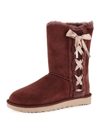 UGG Pala Corset Bow Short Boot