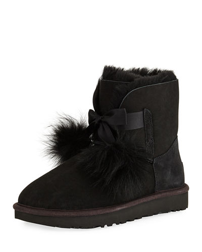 Gita Mini Pompom Boot