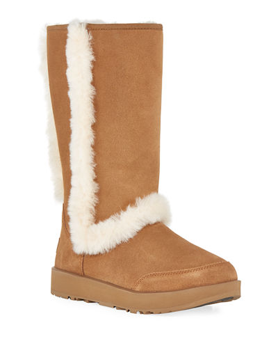 UGG Sundance Waterproof Suede Boot