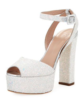 - Glitter 'Betty' Sandal With Platform Betty Glitter in Multicolour