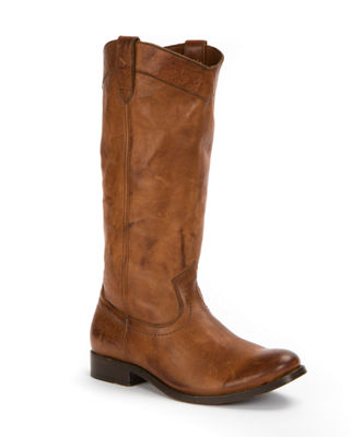 Image 1 of 3: Melissa Pull-On Distressed Boot