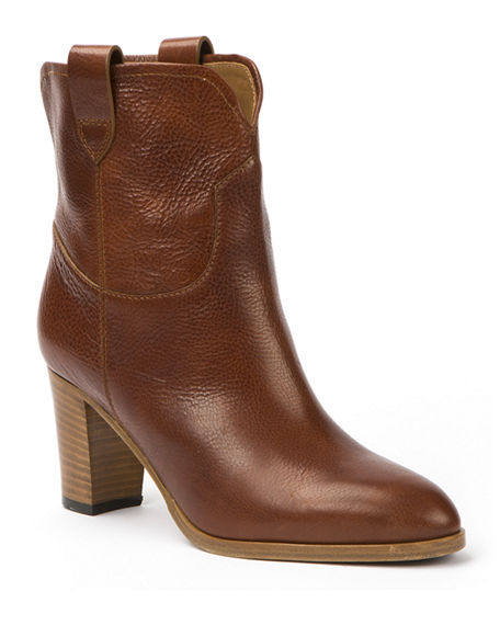 Frye June Antiqued Short Ankle Boot | Neiman Marcus