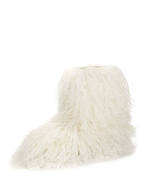 Fluff Momma Mongolian Fur Boot