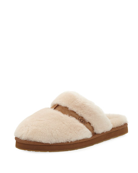 UGG Australia Round-Toe Shearling Mules Visa Payment Sale Online Buy Cheap Buy LGH39UbHd