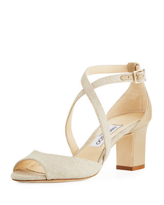 Image 1 of 3: Carrie Canvas 65mm Sandal