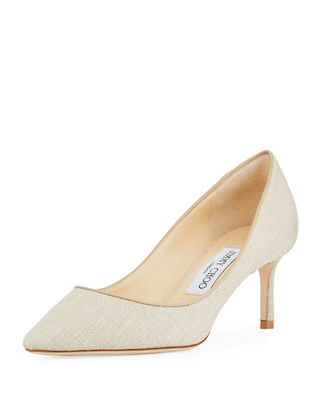Image 1 of 3: Romy Canvas 60mm Pump