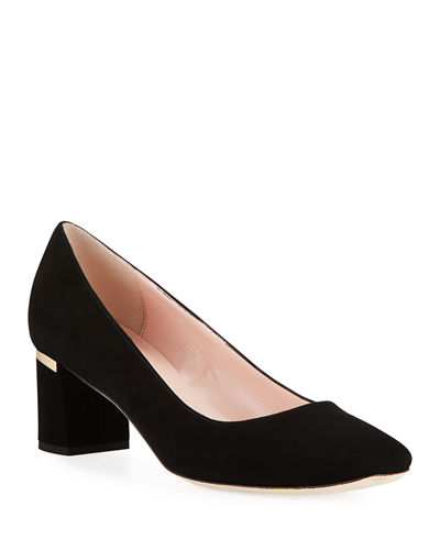 dolores too suede pump