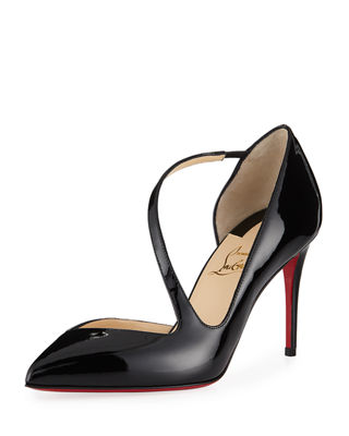 Christian Louboutin Jumping Asymmetric Red Sole Pump