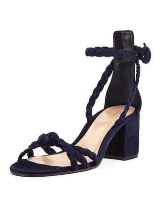 Braided Suede 60mm Sandal