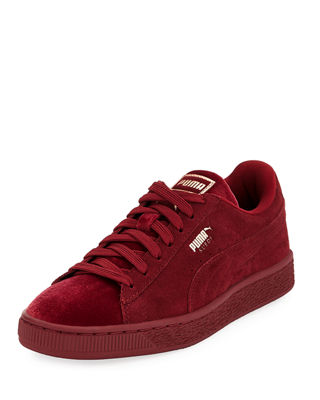 WOMEN'S SUEDE CLASSIC VELVET CASUAL SNEAKERS FROM FINISH LINE