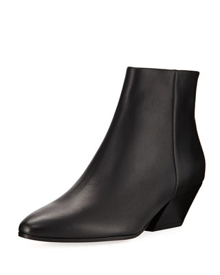 Image 1 of 4: Vaughn Smooth Calf Ankle Boot