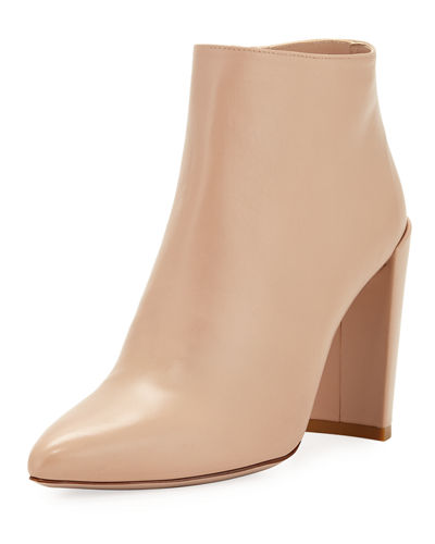 Pure Crinkled Napa Leather Bootie