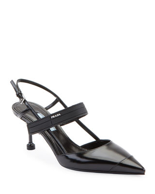 Black White Patent Leather Shoes Neiman Marcus