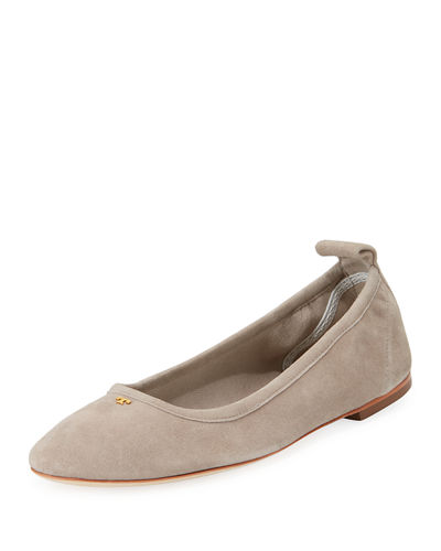 Tory Burch Therese Suede Ballet Flat
