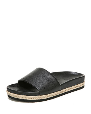 Image 1 of 4: Aurelia Flat Pool Slide Sandal