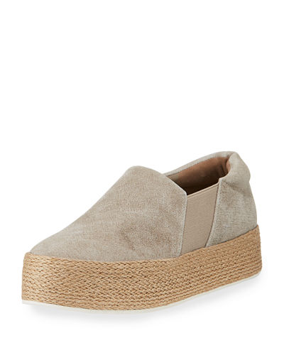 Wilden Flatform Stretch Espadrille Sneaker