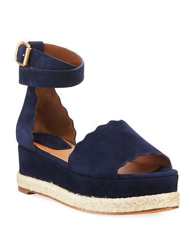 00556a911cdf Quick Look. Chloe · Scalloped Platform Espadrille Sandal