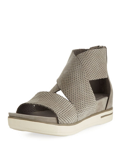 Sport Perforated Sneaker Sandal