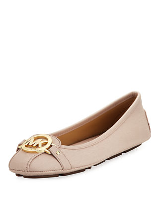 MICHAEL Michael Kors Fulton Saffiano Leather Moccasin