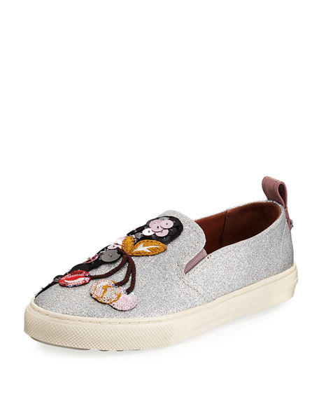 Coach Cherry Patches Slip On Sneaker