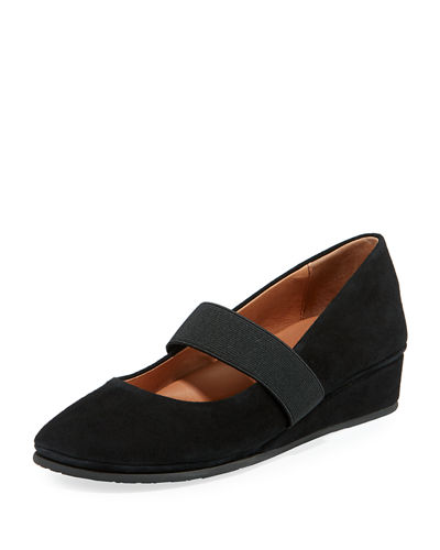 Gentle Souls Aria Demi-Wedge Mary Jane Flat