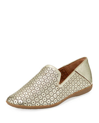 Erin Smoking Perforated Slipper