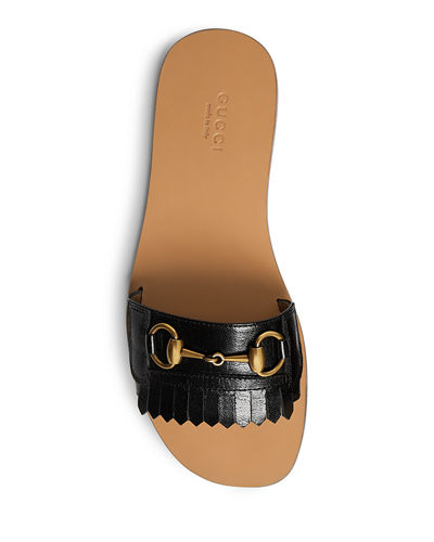 Varadero Leather Kiltie Slide With Bit