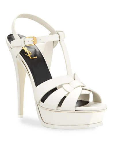 Tribute Leather Platform Sandals