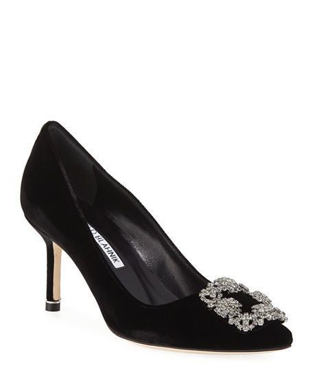 Manolo Blahnik Patent Leather Buckle Pumps Free Shipping Cheap Online vrbkj7UlX