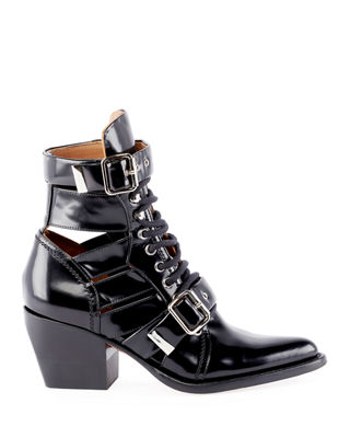 Rylee Lace-Up Box Calf Boot
