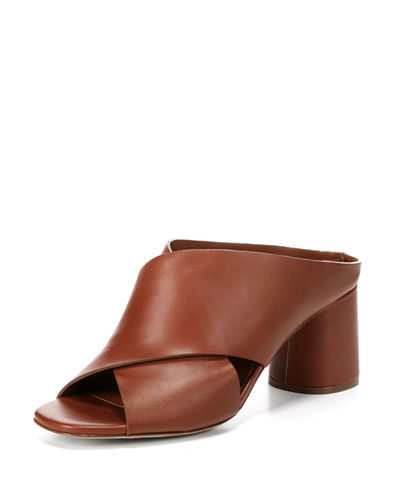Theron Crisscross Slide Sandal