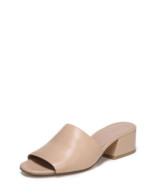 Karissa Leather Slide Sandal